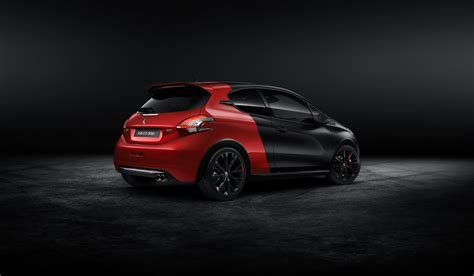 peugeot 208 gti 30th anniversary peugeot 208 gti 30th anniversary edition photo gallery