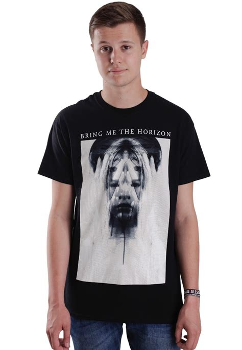 Tshirt Bring Me The Horizon bring me the horizon ghostly t shirt impericon uk