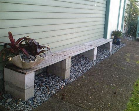 cheap concrete benches so easy and i m assuming pretty cheap concrete block
