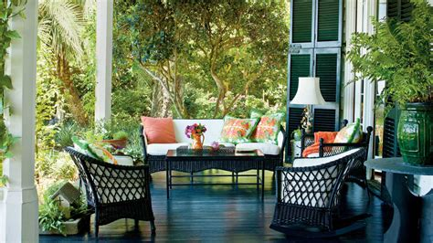 southern home decor ideas charming southern front porch southern living