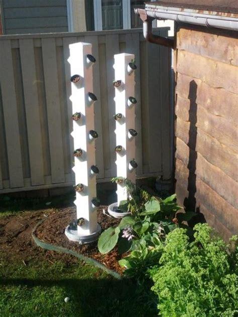 vertical hydroponic garden vinyl fence post hydroponic vertical garden