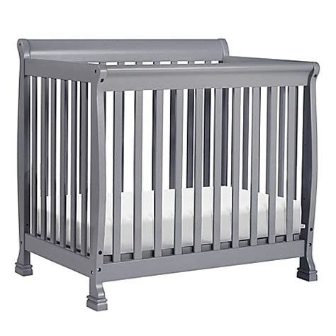 Buy Buy Baby Mini Crib Davinci Kalani 2 In1 Convertible Mini Crib In Grey From Buy Buy Baby