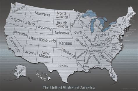 united states pin map united states postal services