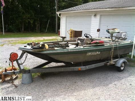 jon boat with trailer and motor armslist for trade project jon boat trailer 40 hp
