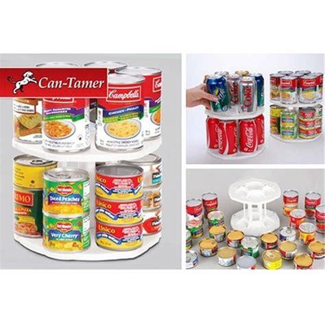 Meja Tv Putar can tamer two tier food carousel meja putar kaleng
