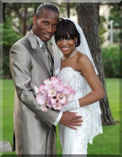 Marriage didier drogba images of angels