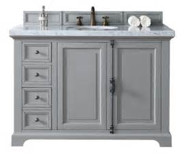 48 quot gray bathroom vanity martin