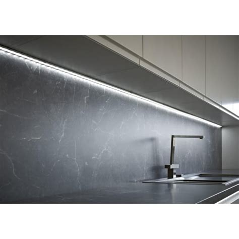 sensio led lights sensio 1m surface mounted aluminium profile inc led light driver at lovelights