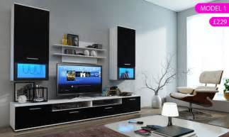 led tv furniture tv cabinet tv wall unit tv stand with led s modern living room furniture for lcd led