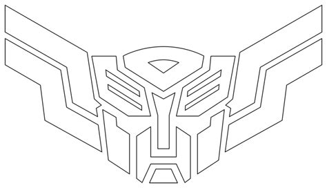 transformers logo coloring pages 11 draw transformers autobots and decepticons images