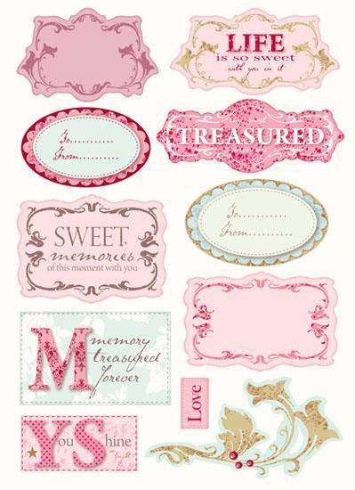 Etiketten Labels etiketten labels pinterest aufkleber etiketten
