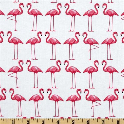 printable fabric sheets spotlight fitted crib cot sheet pink flamingo on white 100