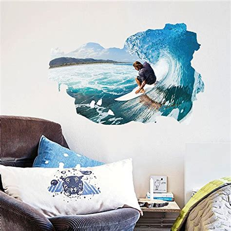 Soul Surfer Bedroom by 5 Best Surfing Wall Decals To Buy Review 2017 Product