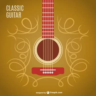 imagenes retro guitarra acustico vetores e fotos baixar gratis