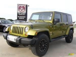 Jeep Wrangler Rescue Rescue Green Metallic Jeep Wrangler Images