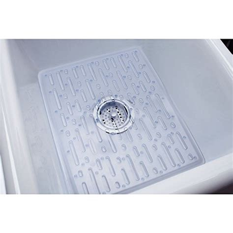 Rubbermaid Kitchen Sink Accessories Rubbermaid Evolution Antimicrobial Sink Mat Large Clear