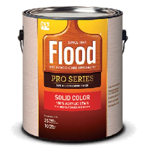 flood pro series solid color acrylic stain specialty