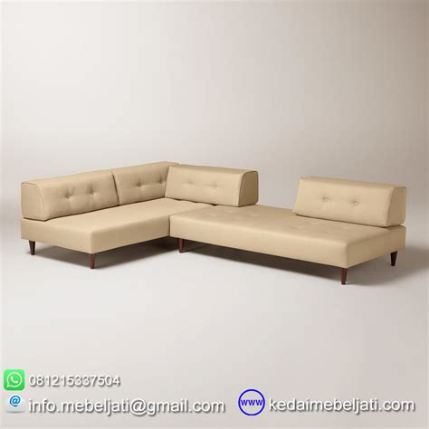Sofa Sudut Minimalis Modern beli sofa sudut modern minimalis valencia kayu jati harga