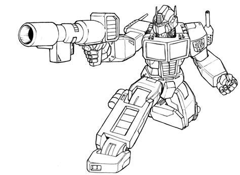 simple transformers coloring pages download and print for