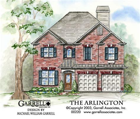 arlington house floor plan arlington house plan house plans by garrell associates inc