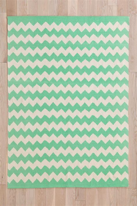mint colored rug assembly home zigzag printed rug outfitters grey