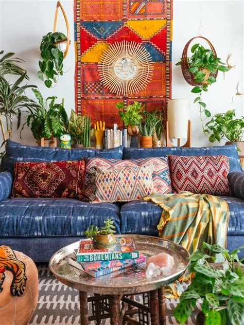 Design Home Inspiration Boho Bohemian Creating Beautiful Spaces Bohemian Home Inspiration
