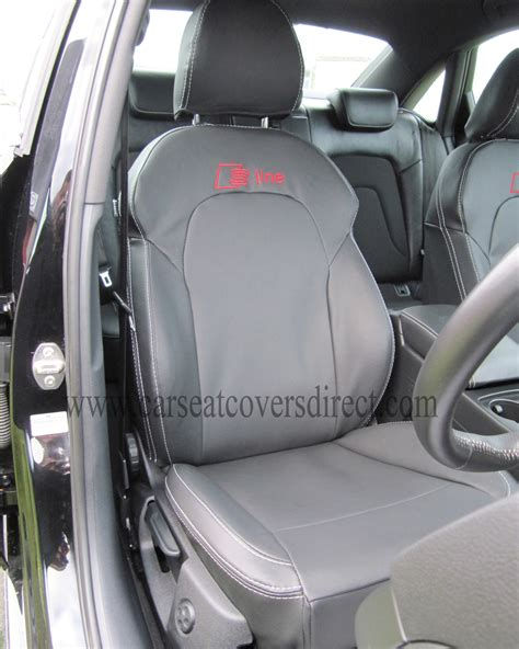 audi q7 sheepskin seat covers audi a4 seat covers black with s line logo car seat