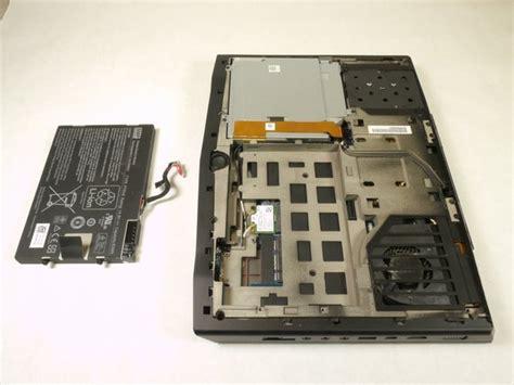 alienware mxr battery replacement ifixit repair guide