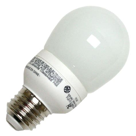 Ge Fluorescent Light Bulbs by Ge 89622 Fle11 2 A19xl Pear A Line Base Compact