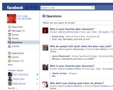 fb questions are questions the quot future of facebook quot techcrunch