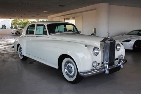 1961 rolls royce silver cloud ii 4 door sedan 192505