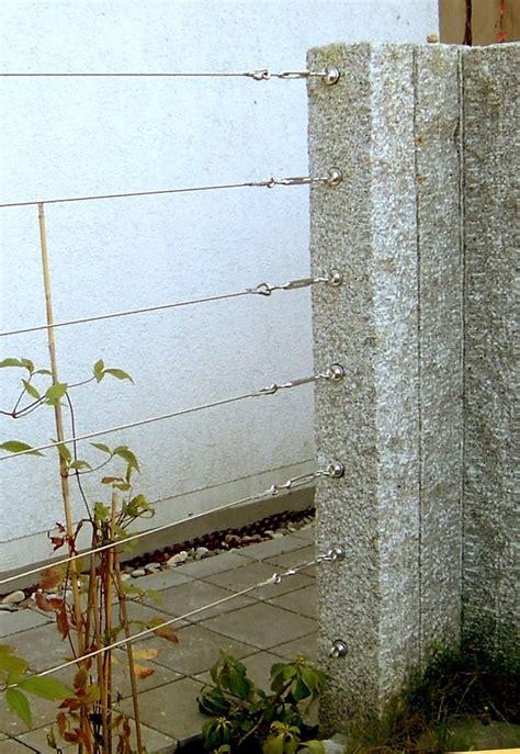 Gardinen Aufh Ngung 2812 by Stahlseil Befestigung Stahlseil Befestigung Bild Foto