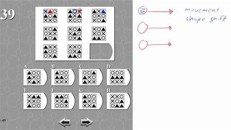 mensa test qi iq test matrix 39 solved and explained