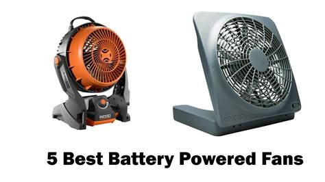 best battery operated fan for hurricane best battery powered fans in 2017 youtube