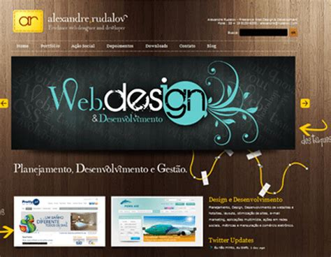 cool app websites 27 cool website designs using wood textures blueblots com