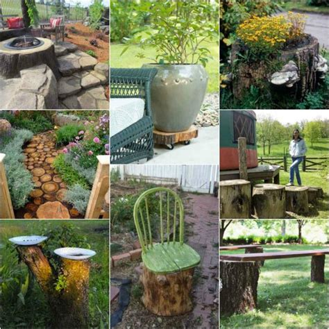 repurposing tree trunks or stumps green eco services 18 practical ways to repurpose tree stumps