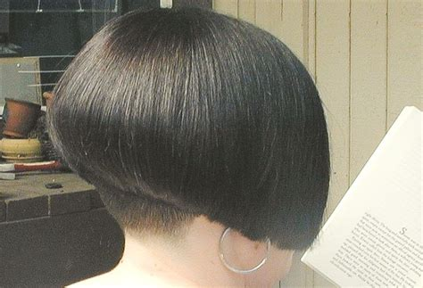 hair obsessed bob haircuts photos of front back side bob haircut shaved nape of neck back view photo hair