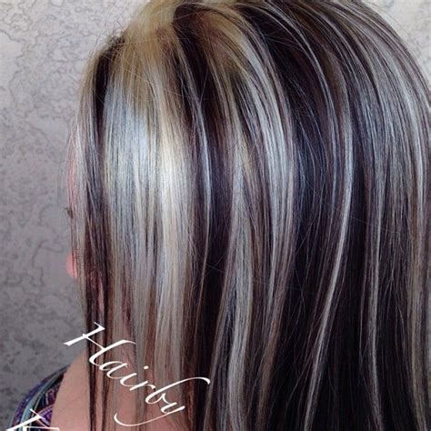 how to apply lowlights to gray hair 1000 images about beauty and fashion on pinterest
