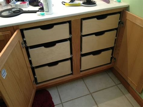 Shelfgenie Of Indiana Pull Out Shelves Increase Storage Bathroom Vanity Pull Out Shelves