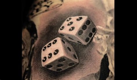 lucky dice tattoo tattoos that bring luck