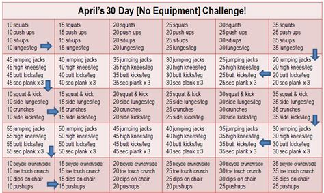 30 day workout plan at home run pink run happy join my 30 day no equipment challenge