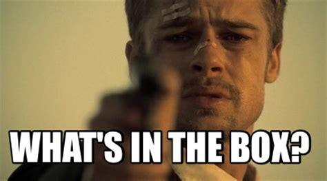 Whats In The Box Meme - meme creator what s in the box meme generator at