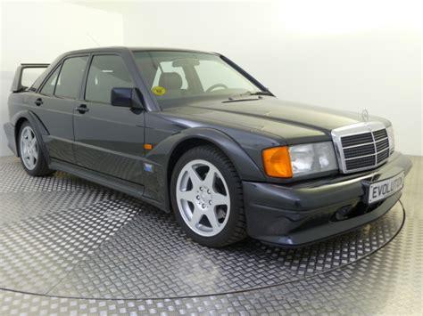 featured cars mercedes benz w201 1990 mercedes benz 190 evolution ii ref 152