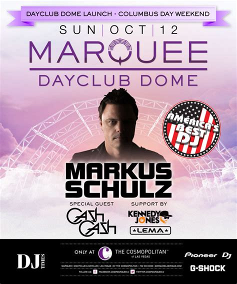 Best Event Giveaways - las vegas giveaway attend markus schulz s abdj crowning ceremony marquee dayclub