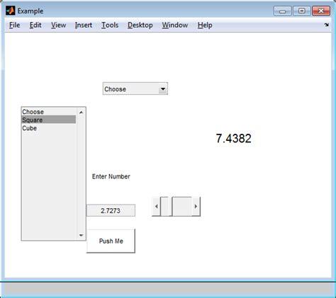 java swing listbox unikys matlab gui 인터페이스 만들기