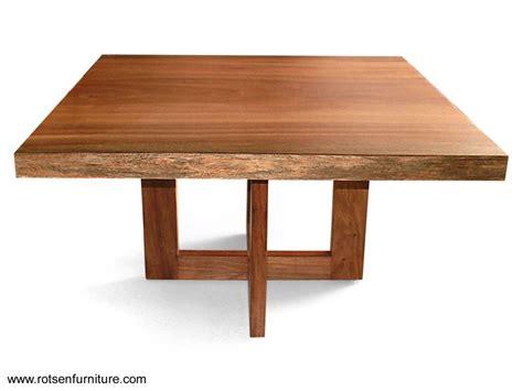 Modern Glass Dining Room Table by Mesas De Madera Mesas De Comedor Madera Maciza Diseno Casa