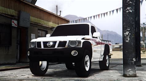 nissan patrol vtc 2016 nissan patrol vtc 2016 pick up replace gta5 mods com
