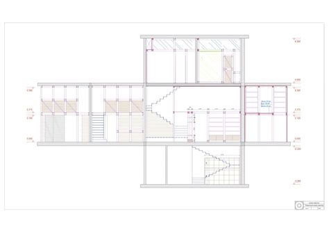 multi level floor plans gallery of multi level apartment kostelov 29