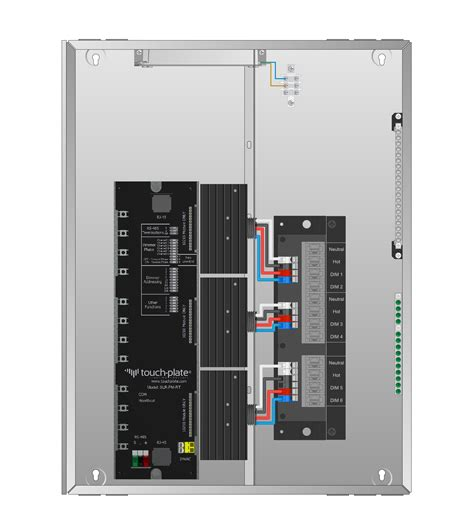 Control Panel Wiring Diagram Dimmer Wiring Diagram With