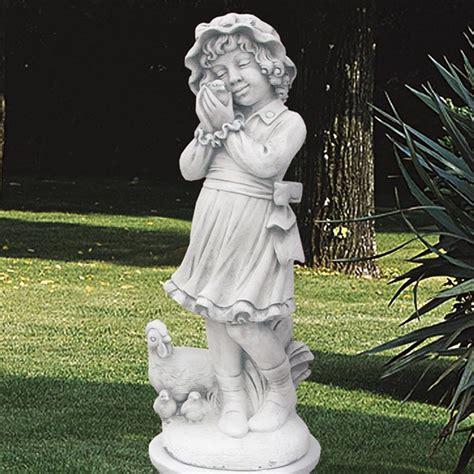 statua da giardino la contadinella produzione statue da giardino